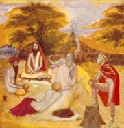 Alexander meeting Dandamis (Dandi Swami).