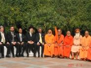 Interfaith Dialogue: Hindu-Jewish Summit, New Delhi, Feb. 2007.