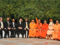 Interfaith Dialogue: First Hindu Jewish Leadership Summit,  New Delhi, Feb 2007