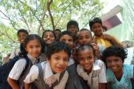 Children at Sevalaya