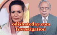 Sonia Gandhi & WV India Head Radhakant Nayak