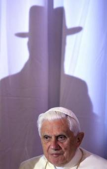 Pope Benedict XVI: Politics in India through his Indian agents.