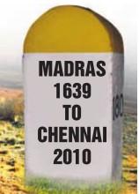 Madras 1639 to Chennai 2010