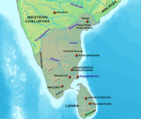 Chola Empire Map
