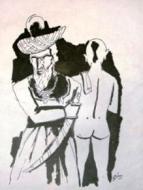 Naked brahmin