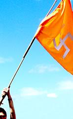 Saffron flag