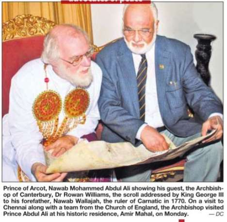 Canterbury & Arcot Sahibs