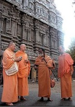 AJA priests with Ramanananda