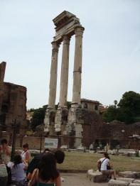 Temple of Castor & Pollux, Rome.
