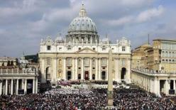 St. Peter's Basilica at the Vatican.