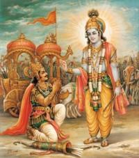 Arjuna & Krishna