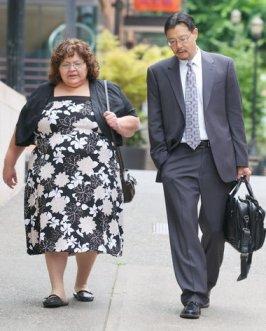 Kathy Mendez & Blaine Tamaki