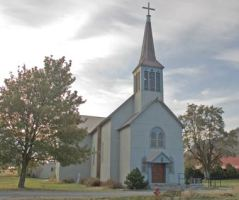 St.  Mary's Mission Church at Omak
