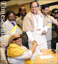 Karunanidhi & Chidambaram