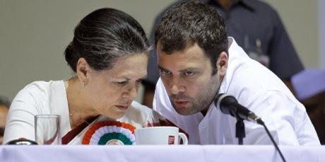 Sonia Gandhi & Rahul Gandhi