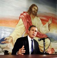 George Bush & Jesus