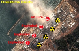 Fukushima Daiichi Nuclear Reactors (4)