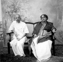 Maharani Sethu Lakshmi Bayi and Rama Varma Valiya Koil Thampuran.