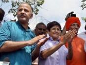 Swami Agnivesh, Kiran Bedi & Manish Sisodia