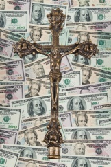 Unaccounted Christian money in India is in hundreds of crores!