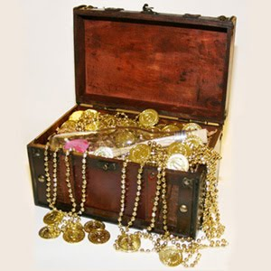 Sri Padmanabhaswamy's treasure.