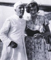 J. Nehru & Edwina Mountbatten