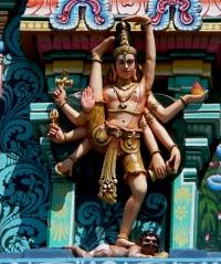 Shiva dancing.