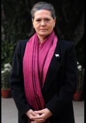 Sonia Gandhi: Swiss bank accounts.
