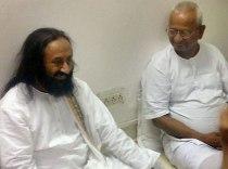 Sri Sri Ravishankar & Anna Hazare