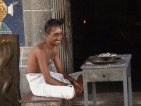 Young Dikshitar at the Chidambaram Temple.