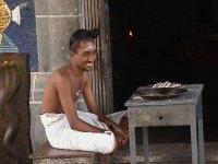 Young Dikshitar at the Chidambaram Temple.