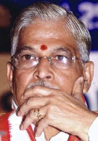 M. M. Joshi is the former BJP Minister for Science and Technology