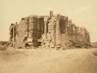 Somnath Temple ruins in 1869