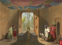 Mahmud of Ghazni's tomb, Kabul, in 1839-40