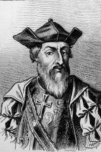 Portuguese missionary pirate Vasco da Gama