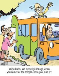 L.K. Advani: Broken promises