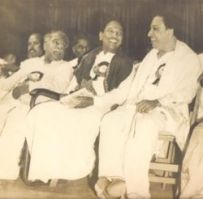 Dravidian party leaders Anna, MK & MGR