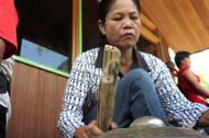 Rituals in the rainforest of Borneo.