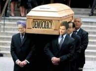Death of Democracy: Singh, Gandhi, Chidambaram & Sibal.