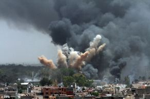 NATO bombing of Tripoli.