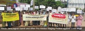 HJS protest against Love Jihad.