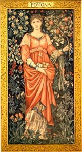 Pomona: The Roman goddess of fruit.