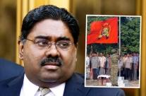 Raj Rajaratnam with the LTTE (inset).