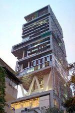 Antilia: Mukesh Ambani's house on Altamount Road, Mumbai.