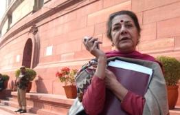 Ambika Soni at Parliament House