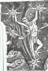 Dancing Jesus in the New Indian Community Bible.