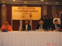 First Hindu-Jewish Leadership Summit at New_Delhi Feb. 2007