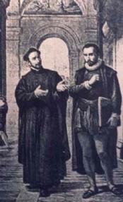 gnatius Loyola & Francis Xavier in Paris