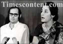Sanjay Gandhi & Ambika Soni
