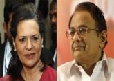 Sonia Gandhi & Chidambaram